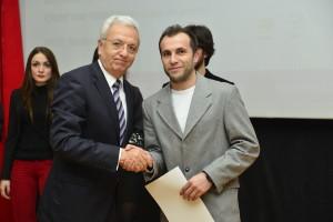 Rektörümüz ve Genç DEKAUM Başkanı Araş. Gör. Orhan Irk